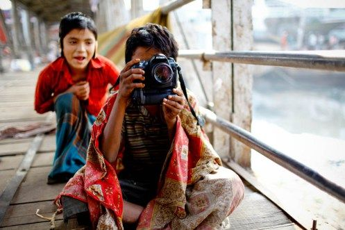 'In the Beginning' #Photography school #Bangladesh @gmb_akash #photojournalist