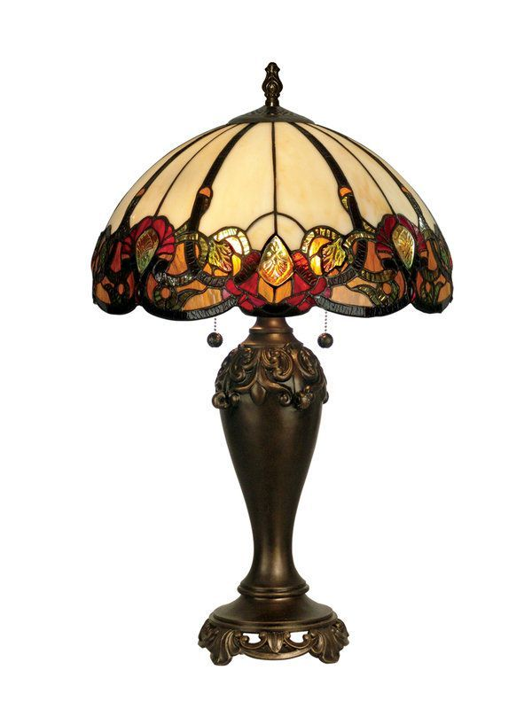 "View the Dale Tiffany TT90235 16"" x 27"" Northlake Table Lamp at LightingDirect.com."