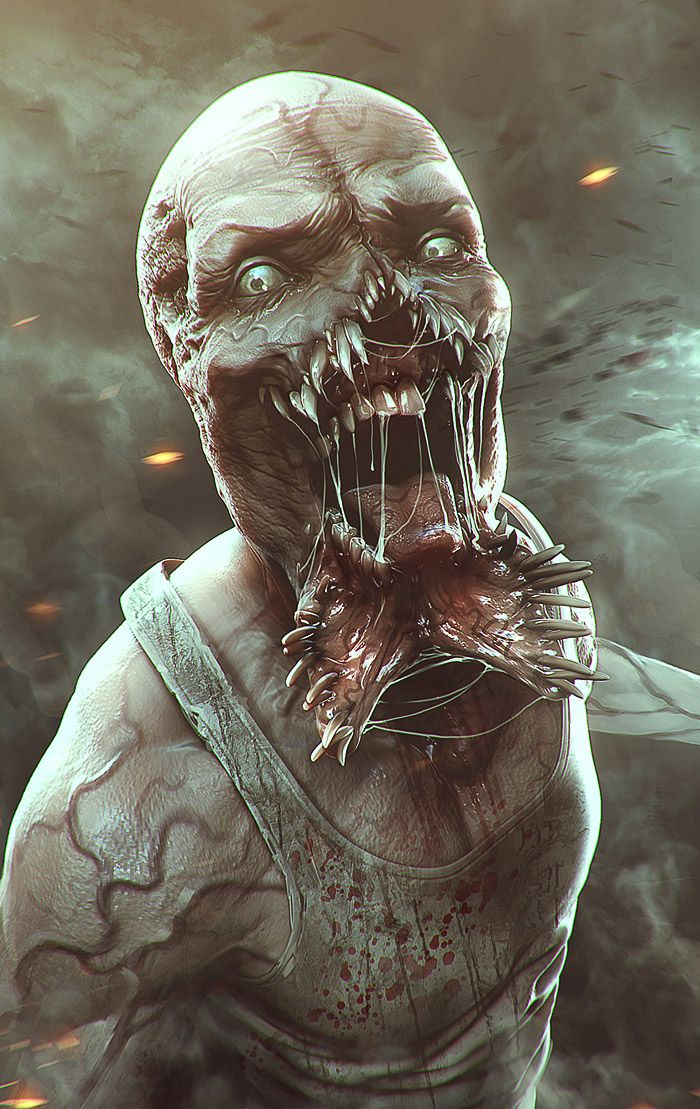 the infected by soufiane idrassi   Illustration   3D   CGSociety