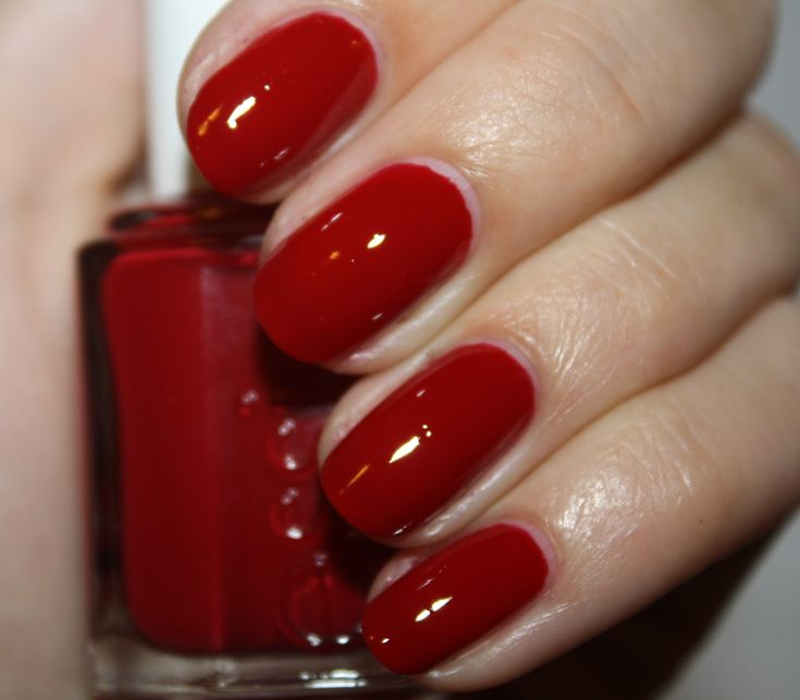 Bold Red For The Aholics Essie Head Mistress