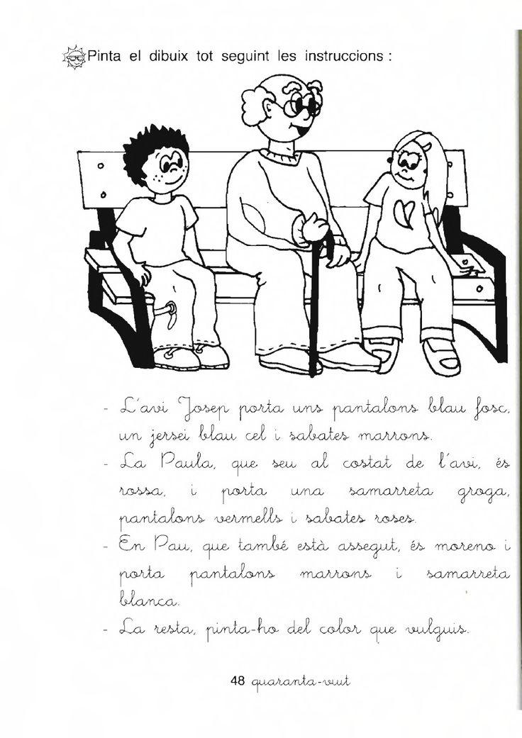 Fitxes imprimibles de català (Cicle inicial)         Aquí us deixo unes quantes fitxes extretes del blog d'una mestra  que podem treballar a...
