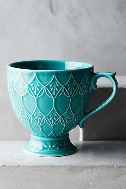 Anthropologie Tea Room Mug