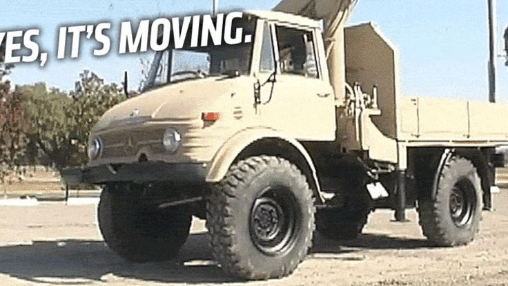 "Most off-road vehicles have crawl ratios—extra gearing to increase forward thrust—between 30 and about 100. But the Mercedes Unimog, with its ""Super Crawler"" gear, has an absurd crawl ratio over 3000. That means two things: unstoppable crawling power, and a hilariously low top speed."