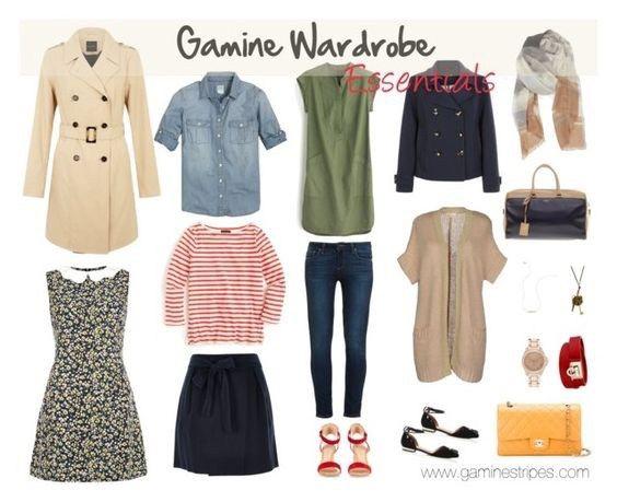 Gamine Capsule Wardrobe