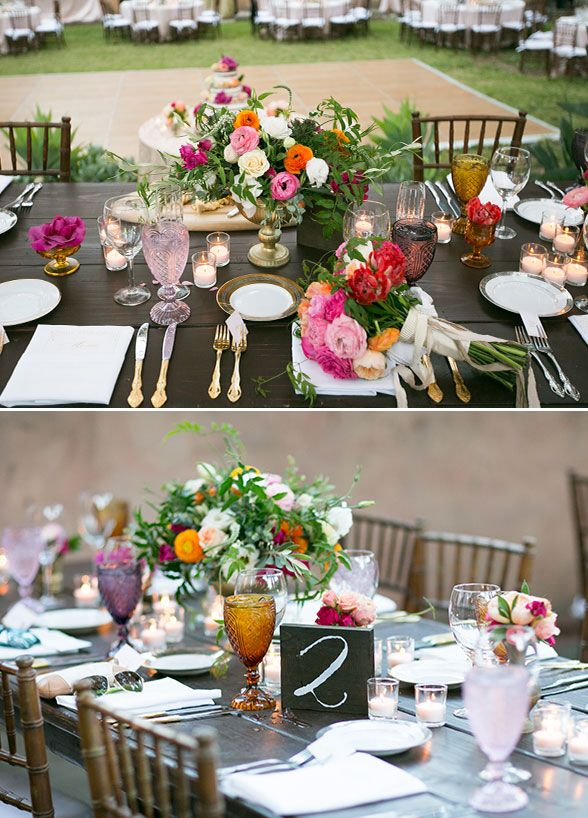 Country Wedding Tables