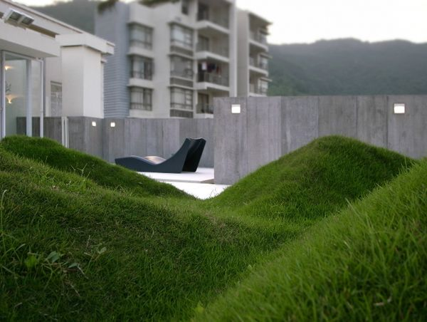 Gurl, look at that lawn. Axial Symphony in Shenzhen, China.: Undul Lawn, Design System, Landscape Architecture, Design Community, Landscape Design, Diy Design, Symphony Houses, Houses Design, Axial Symphony