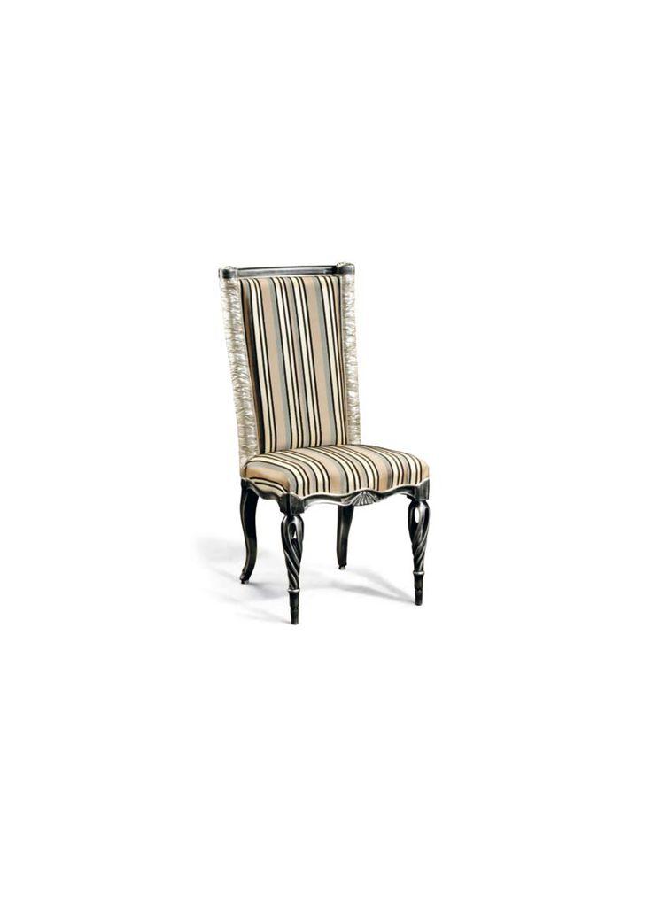 Scaun din lemn masiv art 511s Upholstered Chair Meggoirini Santino Collection