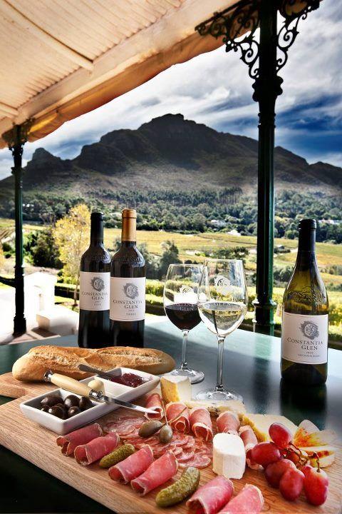 Views, wine, history