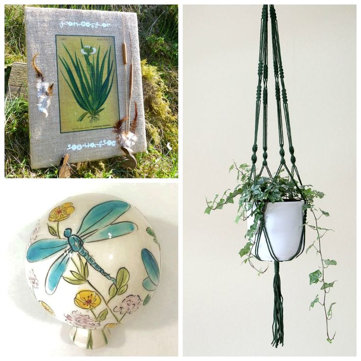 The Picture Garden: Austrian Etsy ... spends time in the garden!