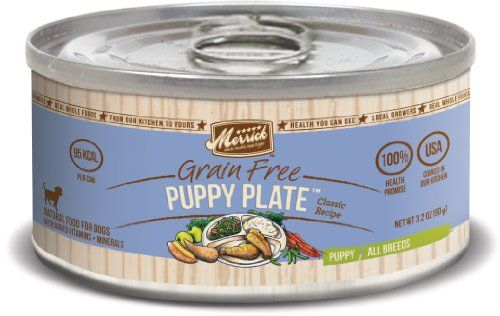 Merrick Classi Grain Free Puppy Plate Recipe Wet Food 32oz Case of 12 ** Click on the image for additional details.