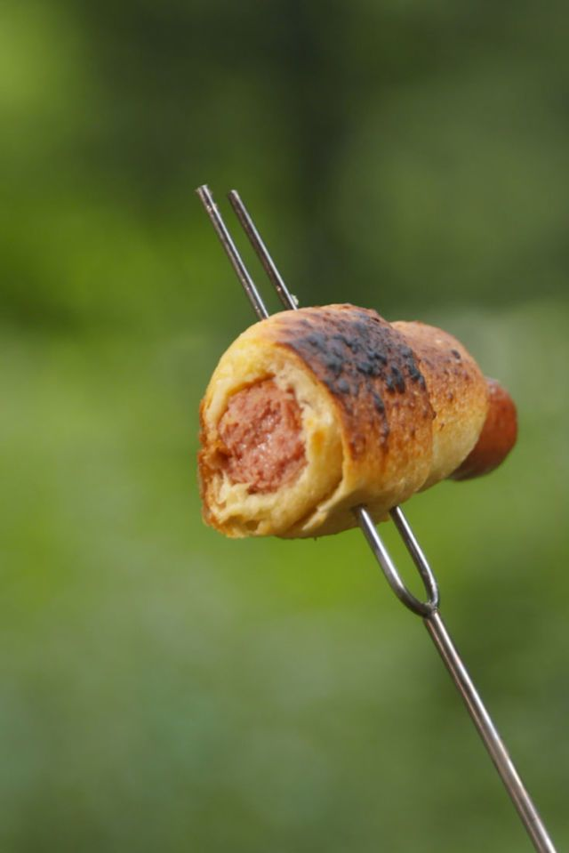 Campfire Pigs In A Blanket