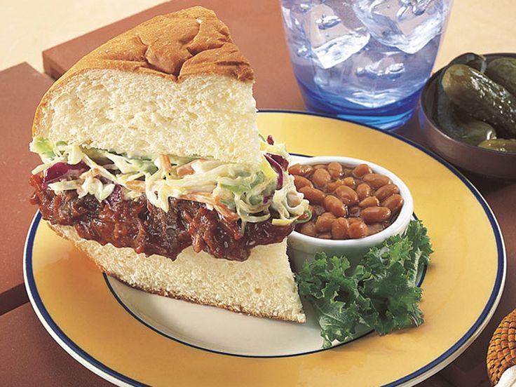 <3 Barbeque Pork Sandwich Recipe. (recipe from kingshawaiian.com)