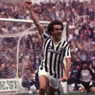 Michel Platini is on fire at old Comunale Stadium @juventus