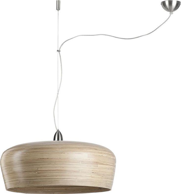 Hanglamp Hanoi Special - Bruin - 1 kap - Bamboe - It's About RoMI