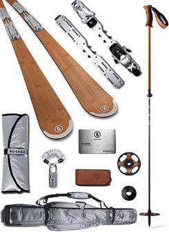 Bogner Complete Bamboo Ski Kit (www.bogner.com/us/#!/bogner/ski-equipment)