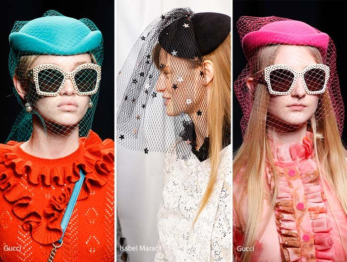 Fall/ Winter 2016-2017 Headwear Trends: Net-Veiled Hats