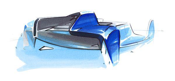 Bugatti Coupémotion - Master Thesis by Henri von Freyberg