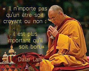 Dalaï Lama (Être bon)