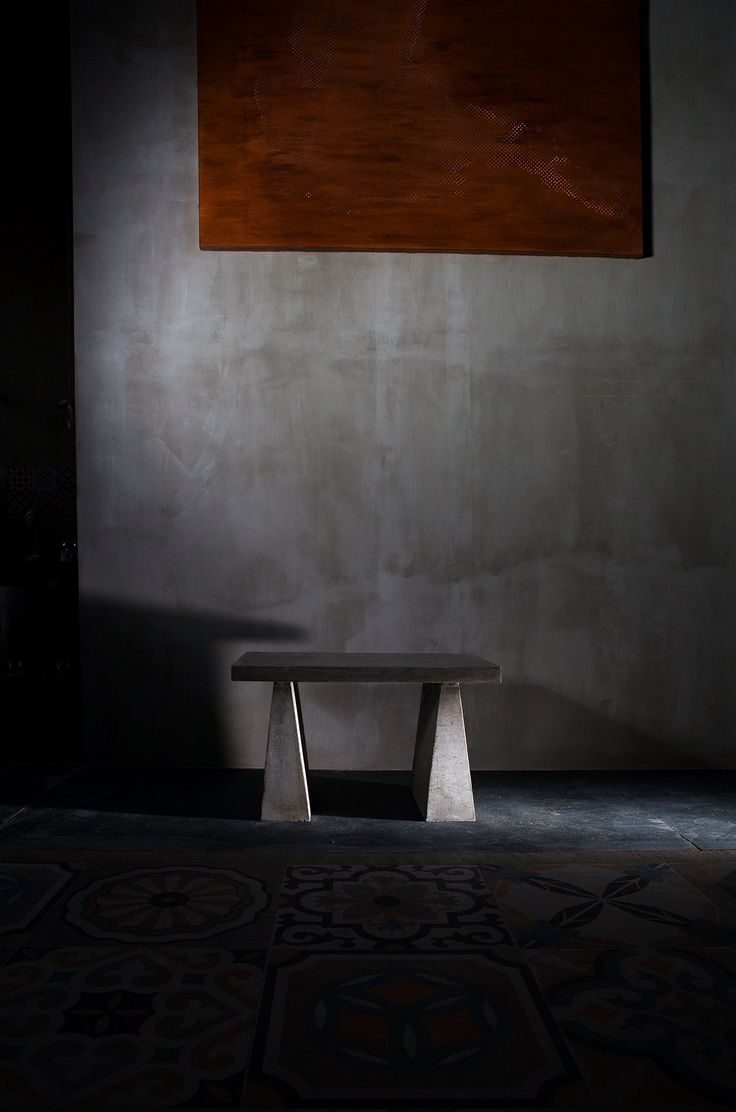 #concrete #coffee #table #handmade #grey #color #texture #onepiece made by www.greymatters.gr