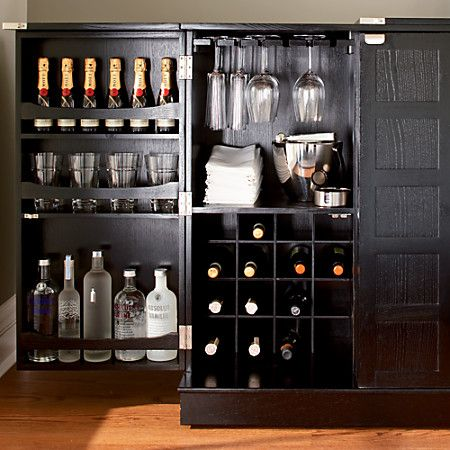 Awesome Wine and Alcohol Cabinet