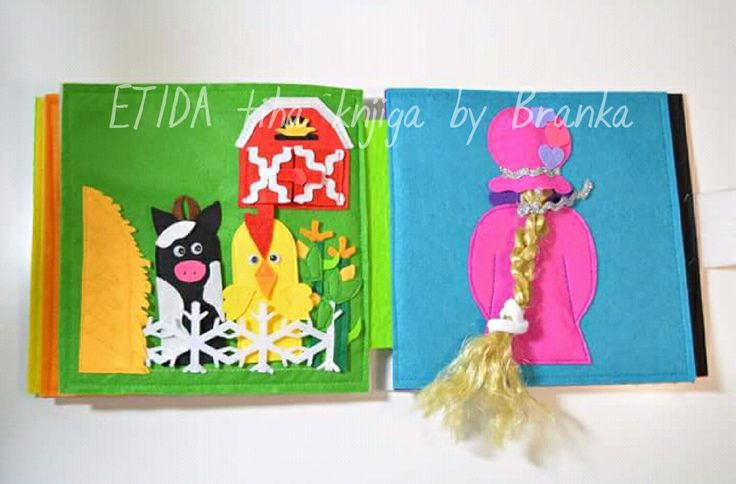 ETIDA quiet book by Branka! More on instagram and facebook..