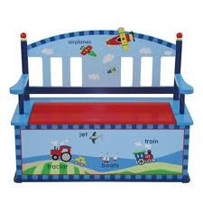 Cute Little Boys Toy Box I must make one for my son I love this