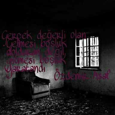 #edebiyat #sanat #değerli #boşluk #yalnızlık #özdemirasaf