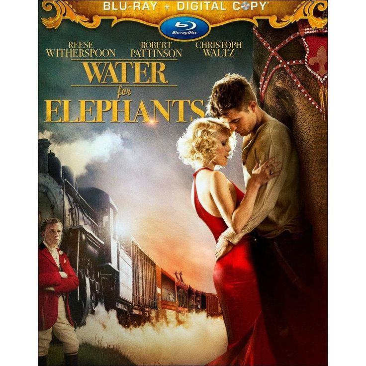 Water for Elephants [2 Discs] [With Digital Copy] [Blu-ray]