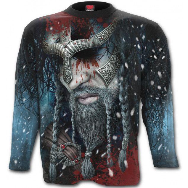 Camiseta Viking Wrap de Spiral Direct #vikings #vikingos #rock #metal #camiseta #xtremonline