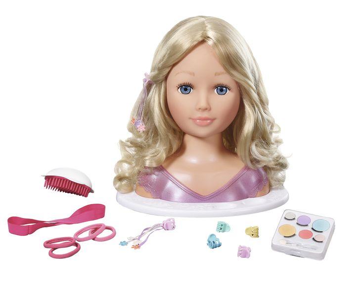 Zapf Création Tête de maquiller et de coiffer