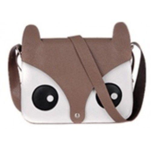 Bagoly női dizájn táska, retikül