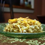 This past Saturday was the season premiere of Pioneer Woman's new fall lineup. She featured her Chicken Spaghetti and it looked fantastic. It was, however..