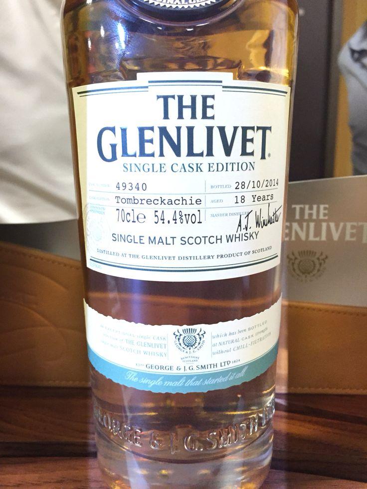 Glenlivet cask strength