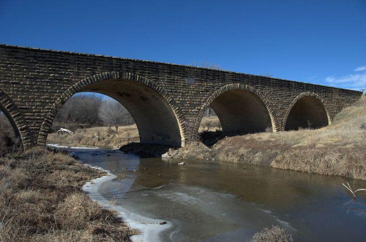 Fort Fletcher Stone Arch Bridge, near Walker