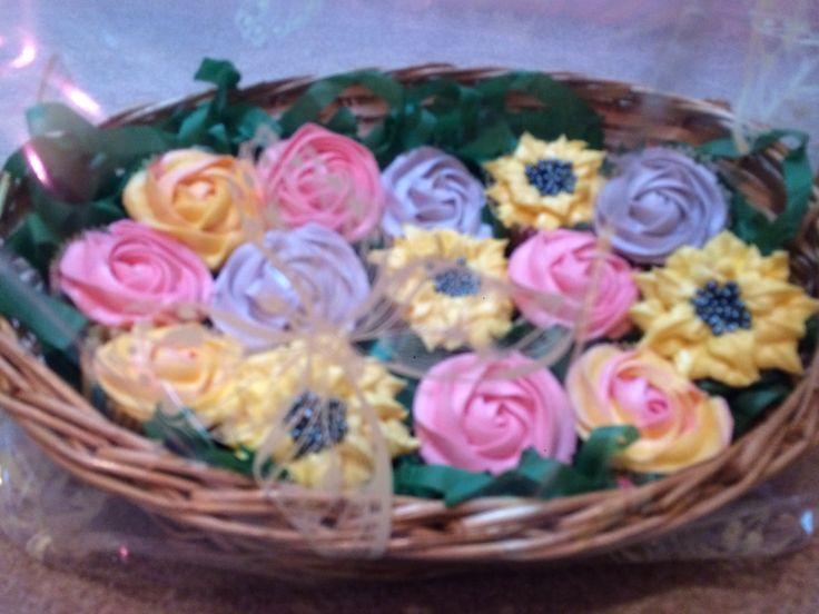 Birthday Basket of Cakes