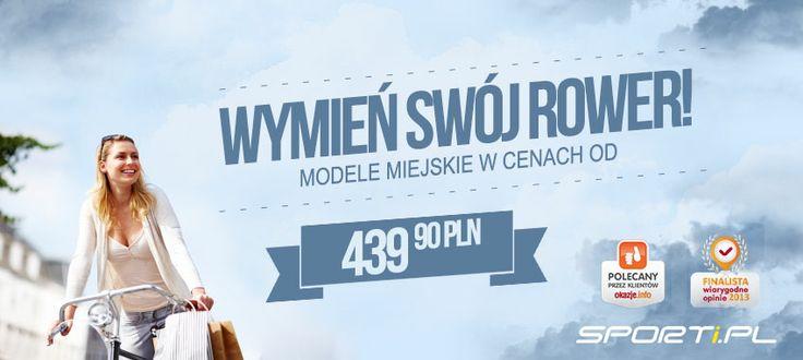 Nadchodzą #upały! :-)  Może już najwyższy czas wymienić swój #rower na nowy?  Serdecznie zapraszamy! http://www.sporti.pl/pol_m_ROWERY_Miejskie-3326.html