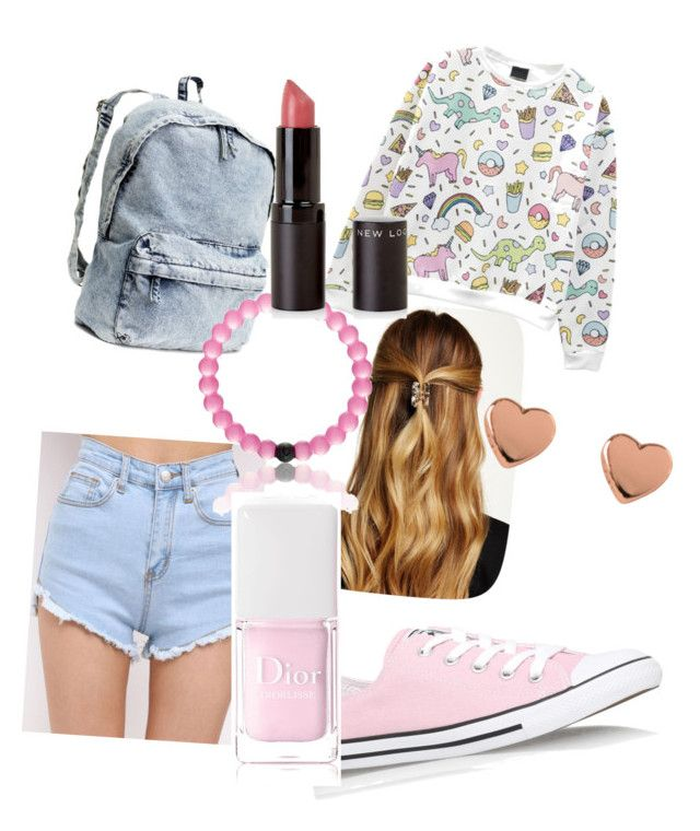 Geen titel #8 by lollypopmy on Polyvore featuring polyvore, fashion, style, Converse, H&M, Ted Baker, Natasha Accessories and Christian Dior