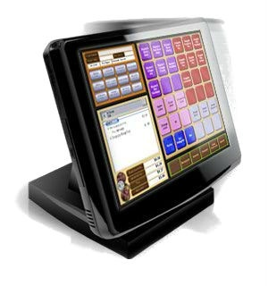 Touchscreen point of sale system