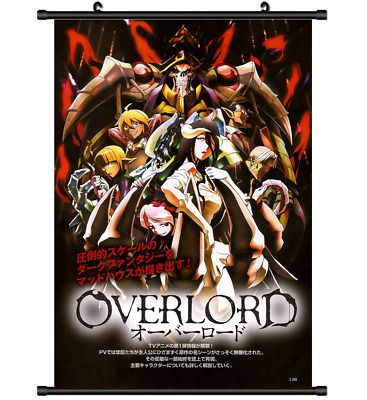 Overlord Anime Wall Poster Scroll Cosplay