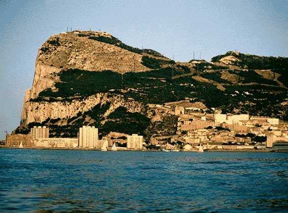 ГИБРАЛТАР (фото скалы Гибралтар)