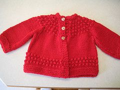 Ravelry: Quick Baby Sweater pattern by Lorraine J Major