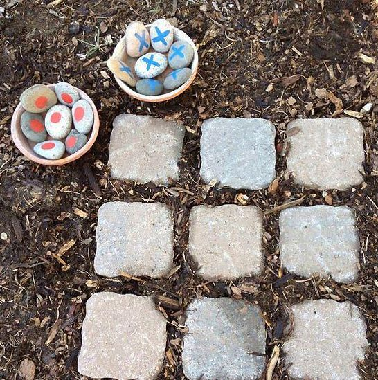 Tic tac toe - for the backyard