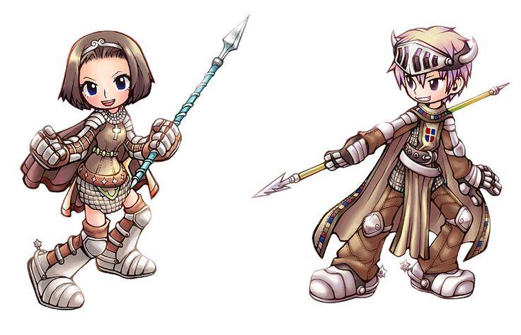Chibi Knight from Ragnarok Online