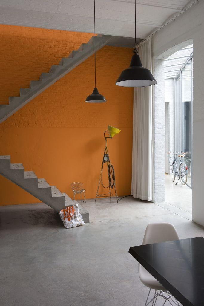 17 beste idee n over verf trap op pinterest trappen schilderen geschilderde trap en kelde - Schilderen muur trap ...
