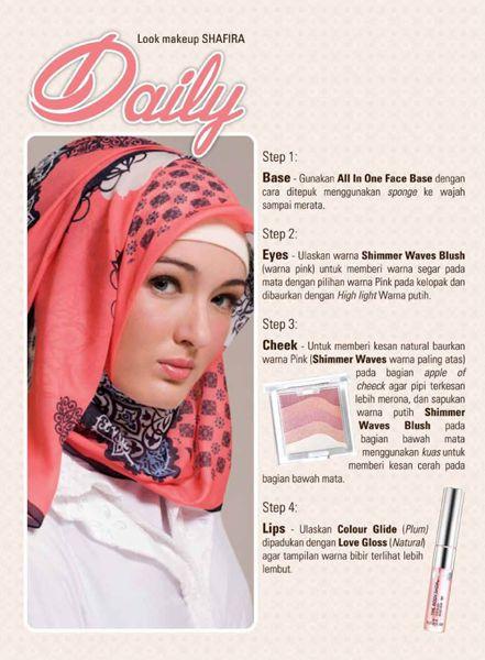 Tips Make Up Daily Shafira