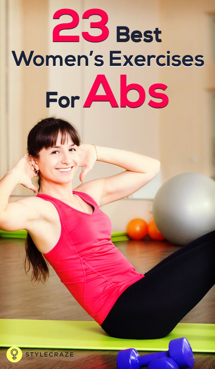 Women's Exercises For Abs: Every woman wishes to have a tummy that's flat, feminine, toned and taut. Don't you agree? If you have always fallen short of your dream of having a flat, toned and sexy tummy, read on to know right way to work out.