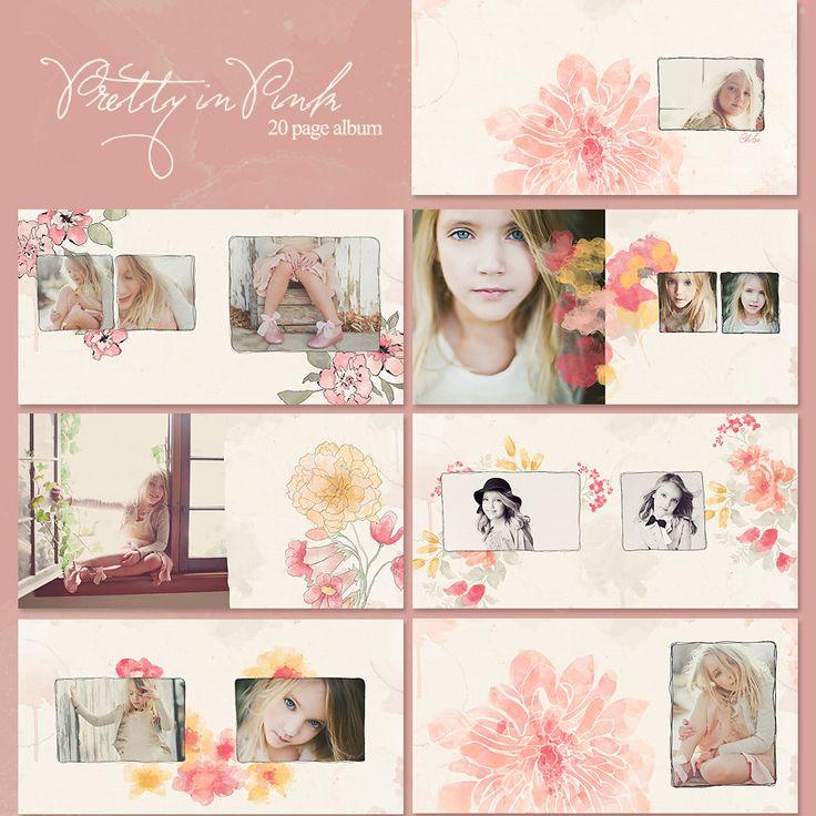 Pretty In Pink 10x10 Album