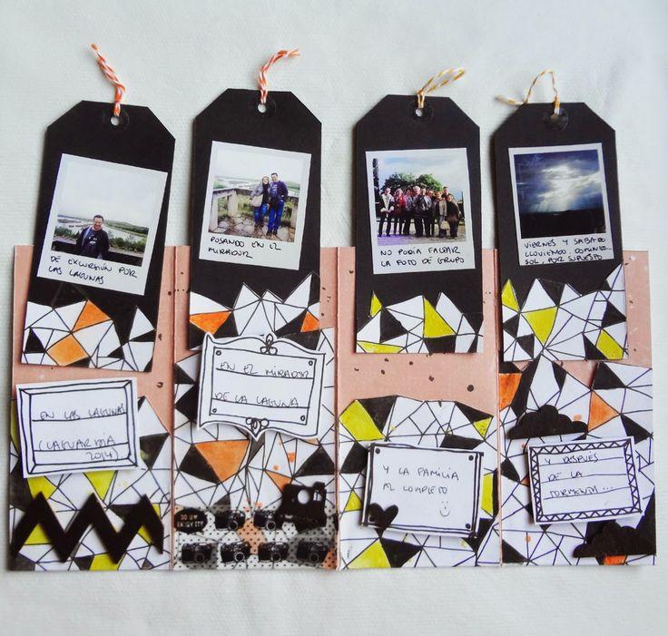Mini de tags #scrapbooking #tutorial #MSP #madscraproject #tags