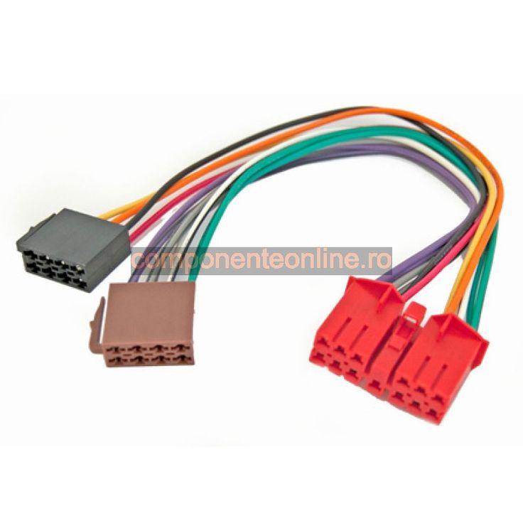 Cablu adaptor ISO, Renault - 402519