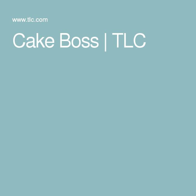 Cake Boss | TLC